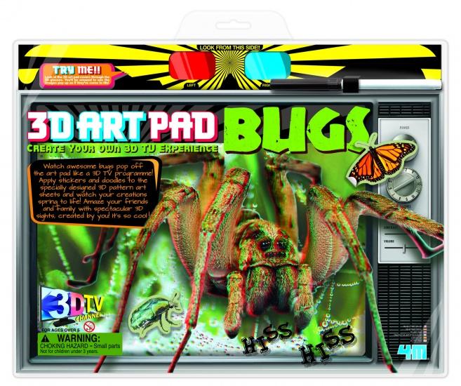 4M Crea 3D ART Pad: Insecten
