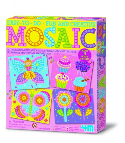 Zoekies.com - 4M Crea Art: Mozaïek Kit Meisje | 18 - 95