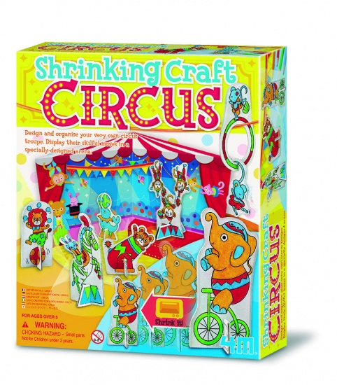 4M Crea Craft Krimpkunst Circus