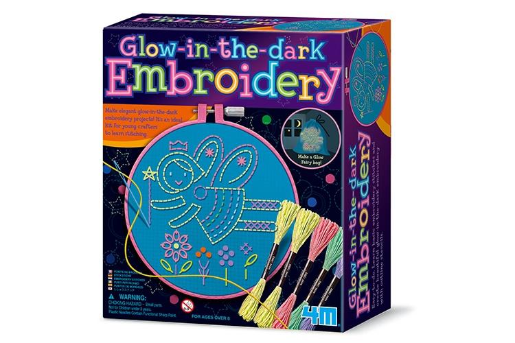 Zoekies.com - 4M Crea Easy kit: Glow in the dark borduurwerk | 23 - 95