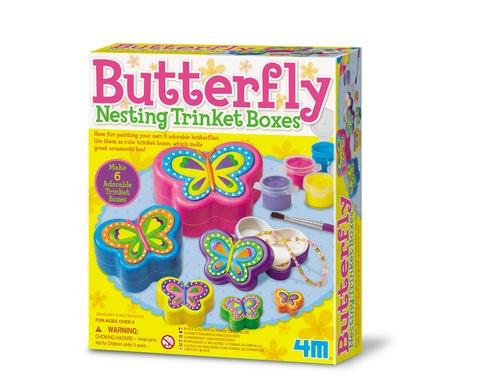 4M Crea Easy sieradendoosjes vlinder