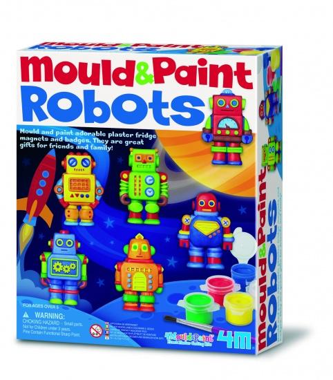4M Crea Gips Gieten en Verven Robots