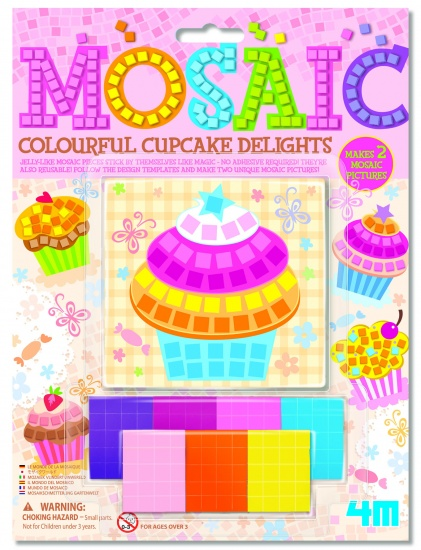 4M Crea: Mozaïek Cupcakes