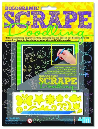 4M Crea Scrape Doodling