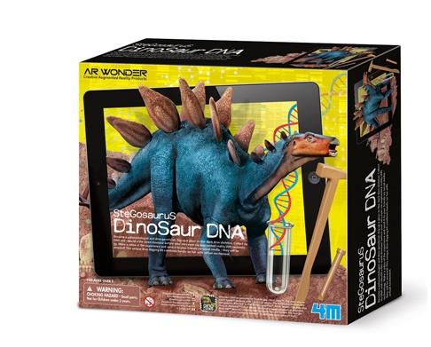 4M Dinosaurus DNA opgravings set Stegosaurus