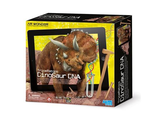 4M Dinosaurus DNA opgravings set Triceratops