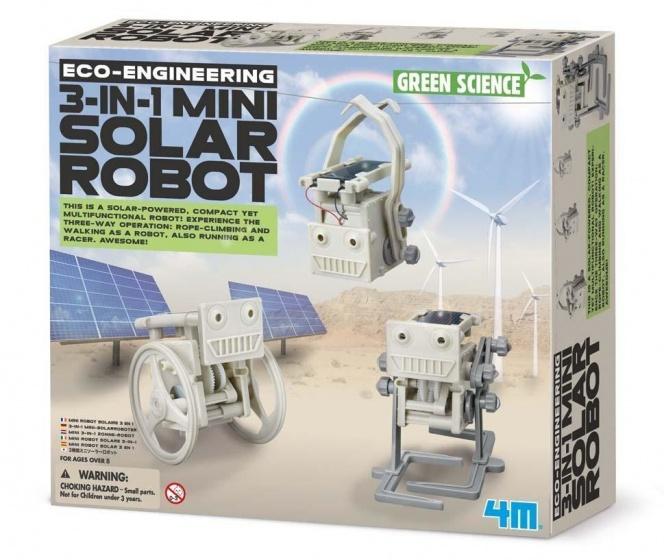 4m eco engineering 3 in 1 mini solar robot kopen koop online. Black Bedroom Furniture Sets. Home Design Ideas