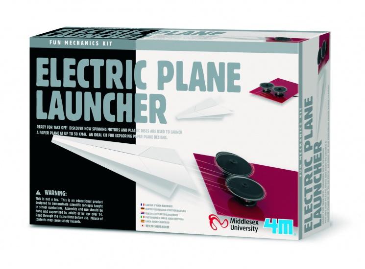 4M Fun Mechanics Kit: Elektrische Vliegtuiglanceerder