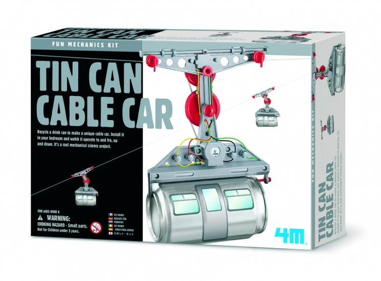 4M Fun Mechanics Kit: Kabelbaan