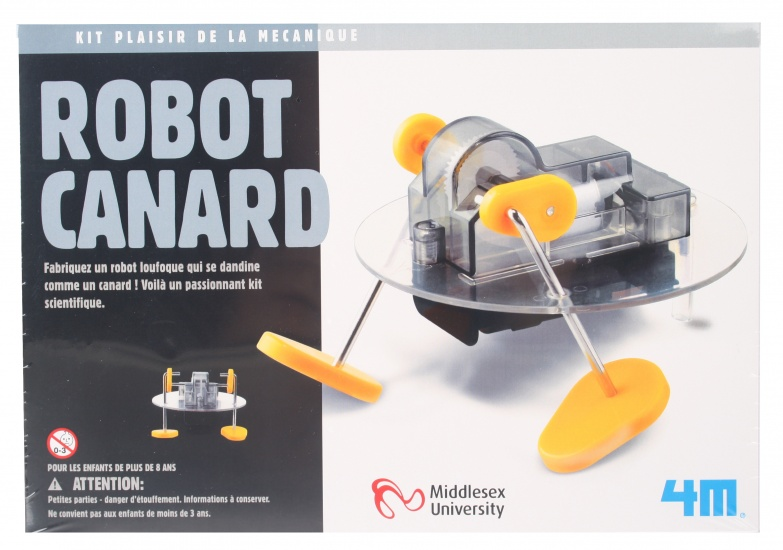 4M Fun Mechanics Kit robot eend 21 delig
