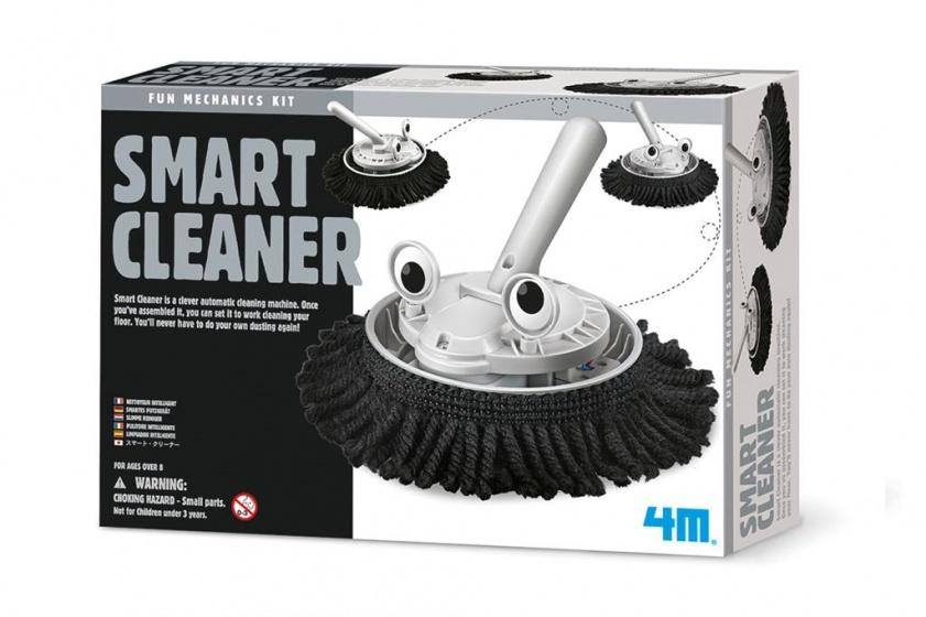 4M Fun Mechanics Kit: slimme reiniger bouwpakket