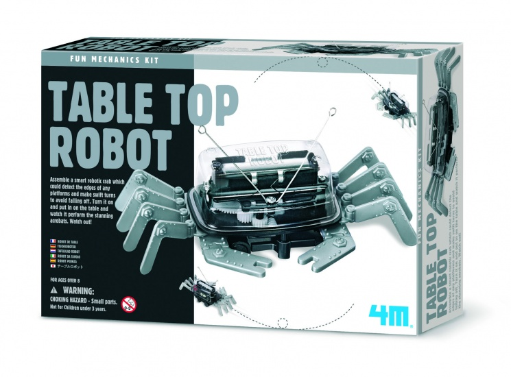 4M Fun Mechanics Kit: Tafelblad Robot