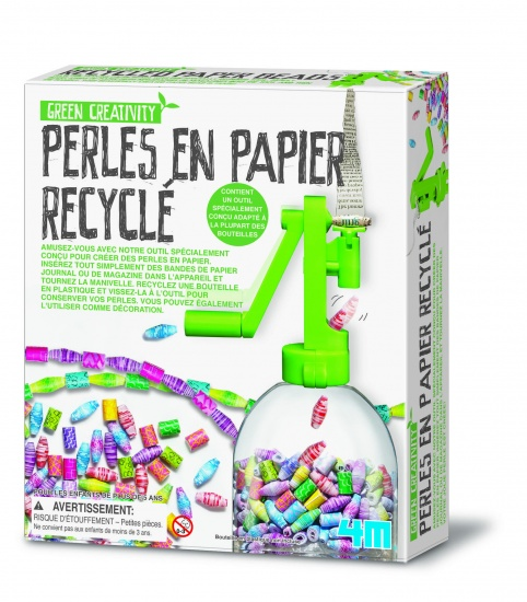 4M Green Activity: Gerecyclede Papieren Kralenketting