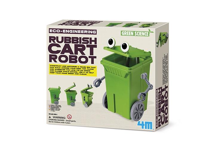 4M Kidszlabs Green Science/Eco Engineering: Afvalbak robot