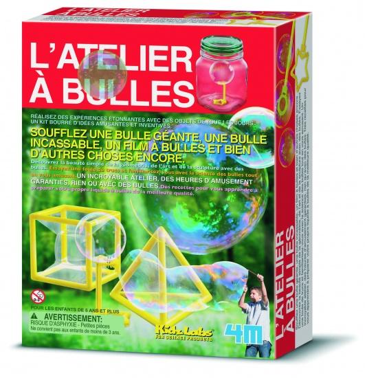 4M Kidzlabs: Bubble Science Franstalige Versie