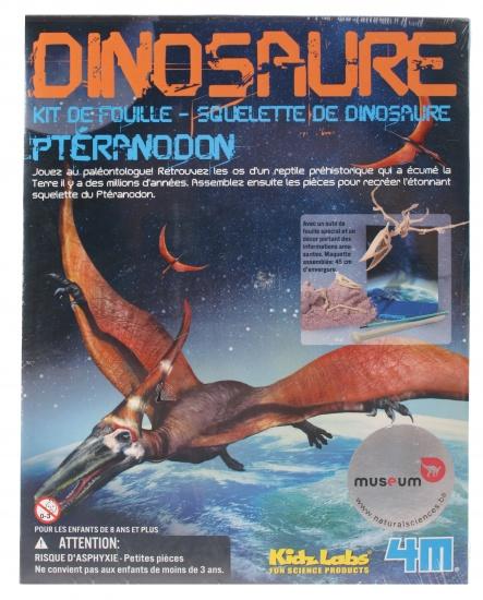4M Kidzlabs Graaf je dinosaurus op Pteranodon 4 delig