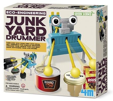 4M Kidzlabs green science/Eco Engineering: Junk Yard drummer