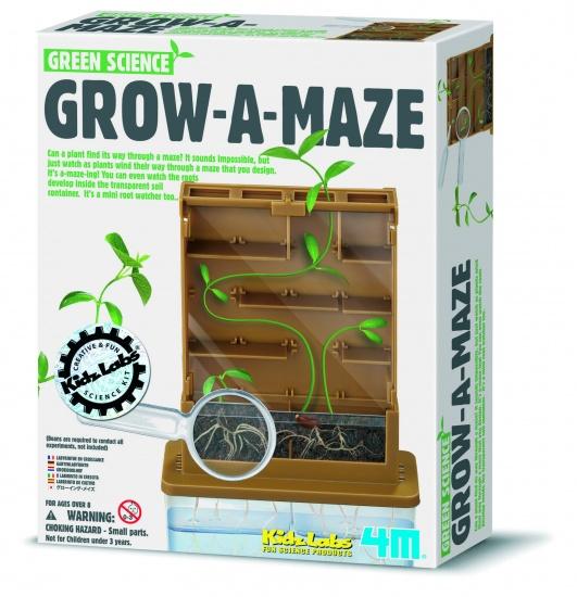 4M Kidzlabs Green Science: Groei Een Doolhof
