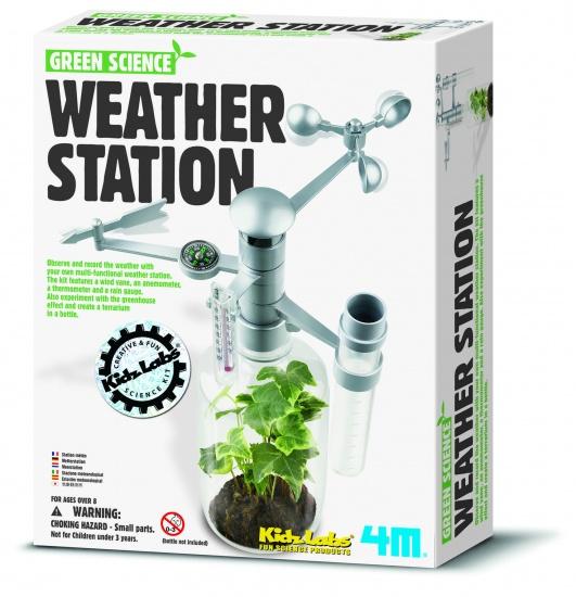 4M Kidzlabs Green Science: Weerstation Frans