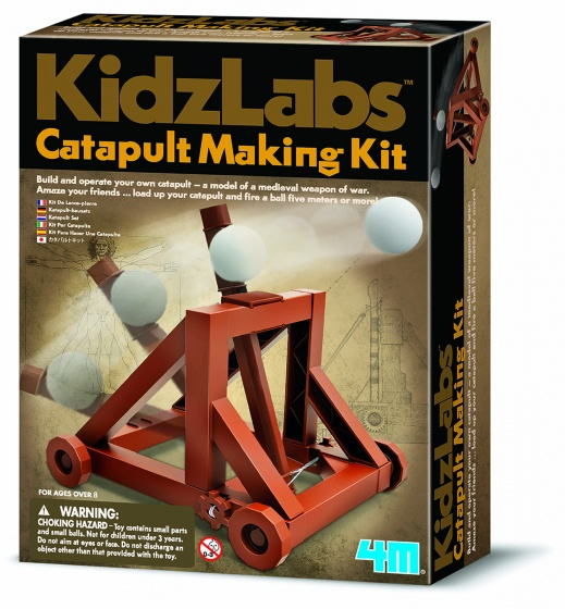 4M Kidzlabs: katapult bouwpakket