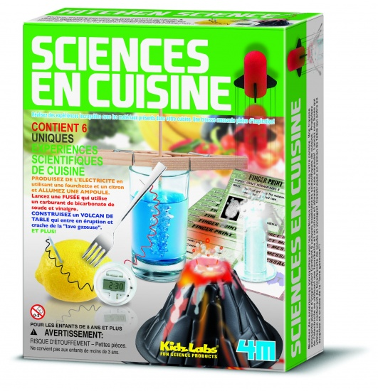 4M Kidzlabs: Kitchen Science Franstalige Versie