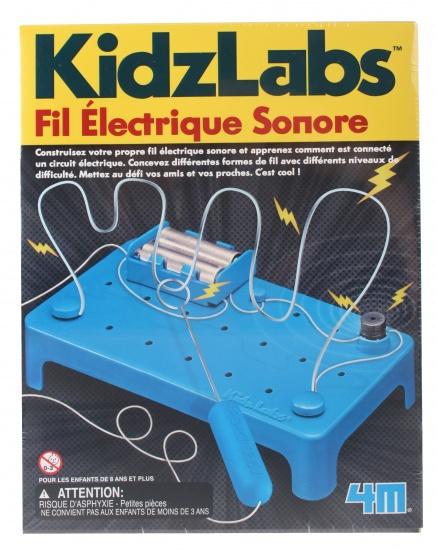 4M Kidzlabs maak je stresstester 12 delig blauw