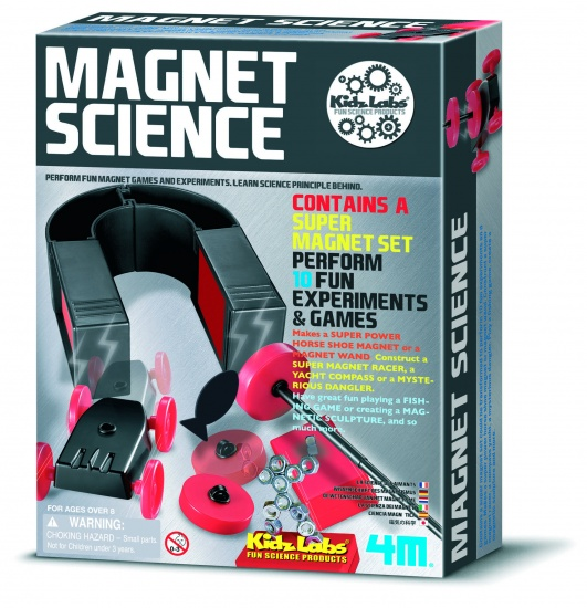 4M Kidzlabs: Magnet Science