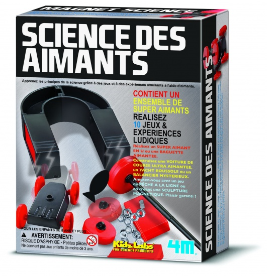 4M Kidzlabs: Magnet Science Franstalige Versie