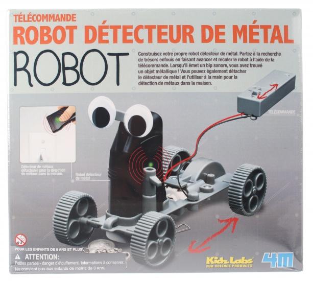 4M Kidzlabs metaaldetector robot 27 delig