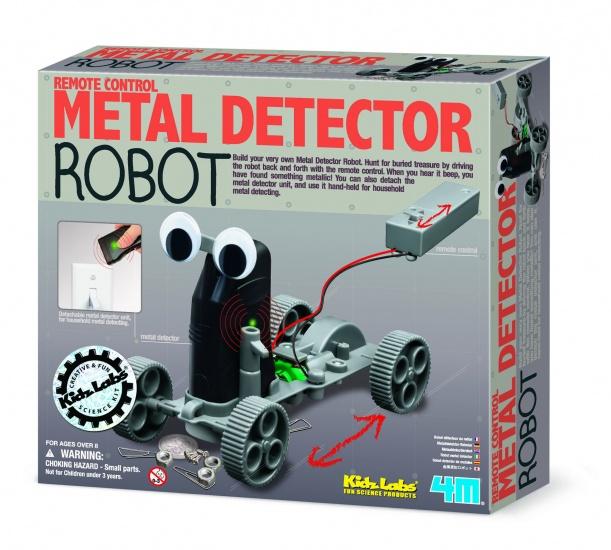 4M Kidzlabs: Metaaldetector Robot