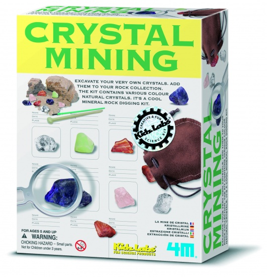 4M Kidzlabs: Opgraafkit Kristalmijn