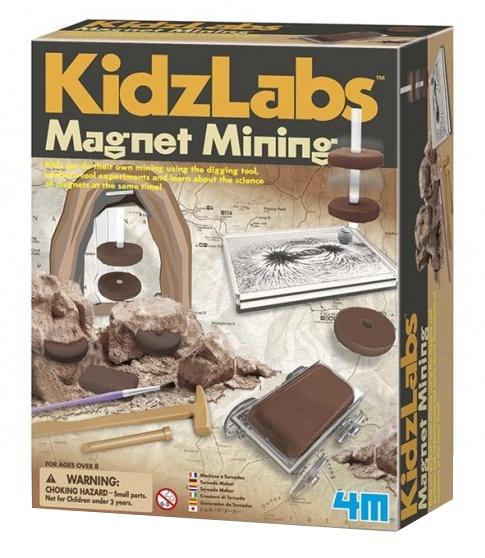 4M Kidzlabs: opgraafkit magneten