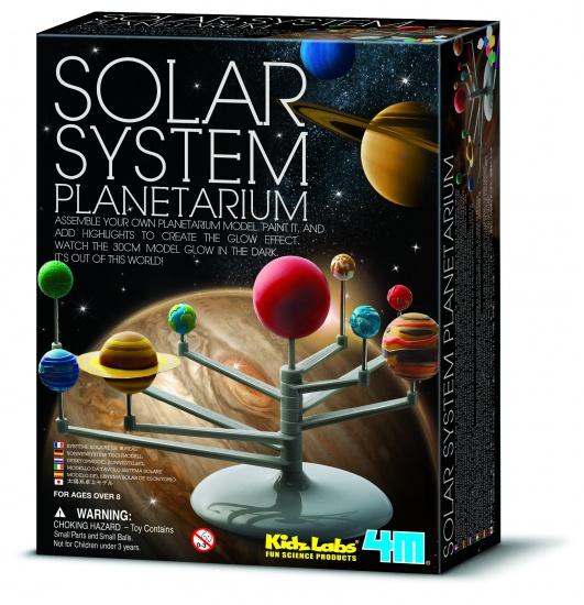 4M Kidzlabs Ruimte: Bouwset Planetenstelsel (franstalig)