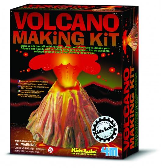 4M Kidzlabs Sciene: Vulkaan Groot