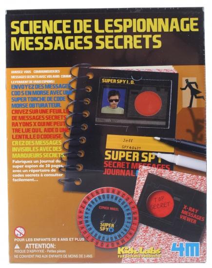 4M Kidzlabs Spy Science geheime boodschap 17 delig