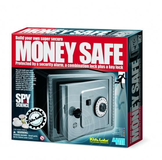 4M Kidzlabs Spy Science: Geldkluis Met Alarm