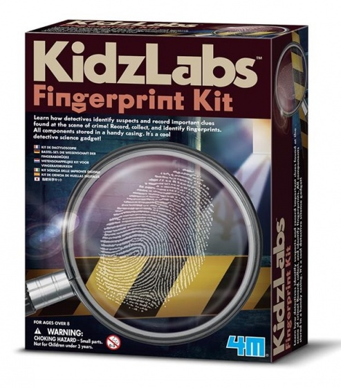 4M Kidzlabs: Spy Science/Vingerafdruk Set