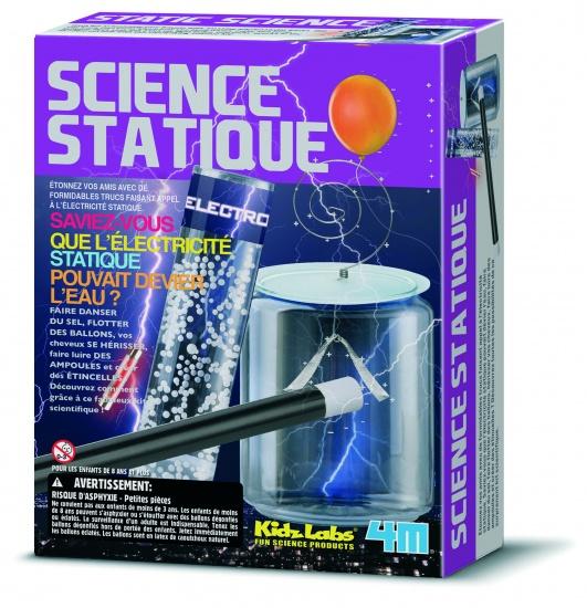 4M Kidzlabs: Static Science Franstalige Versie