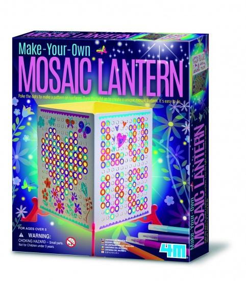 4M Maak Je Eigen Mosaic Lantaarn