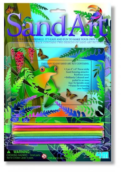 4M Sand Art: Kikker