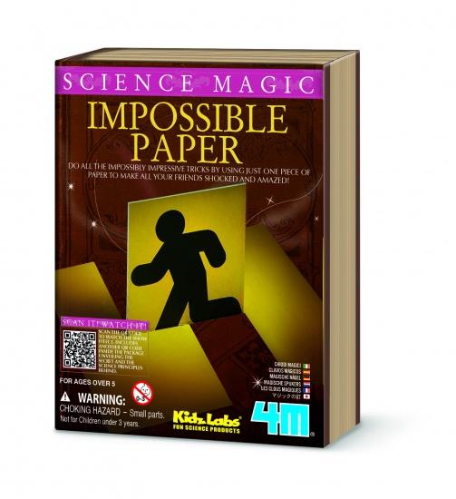 4M Science Magic: Onmogelijke Papieren Trucs