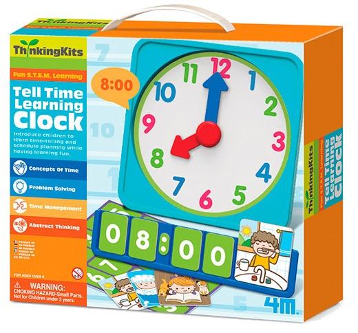 4M Thinking Kits Hoe laat is het? leerklok
