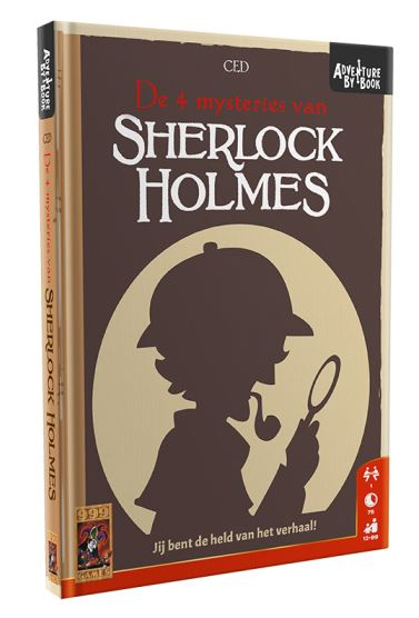999 Games Actiespel Adventure By Book: Sherlock Holmes