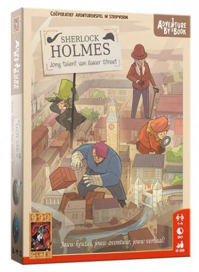 999 Games Actiespel Book: Sherlock Jong Talent Van Baker Street
