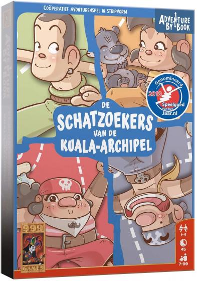 999 Games Actiespel By Book: De Schatzoekers Van De Kuala