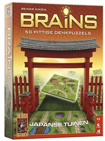 999 Games bordspel Brains: Japanse tuinen