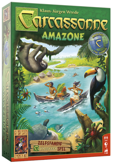 999 Games bordspel Carcassonne: Amazone