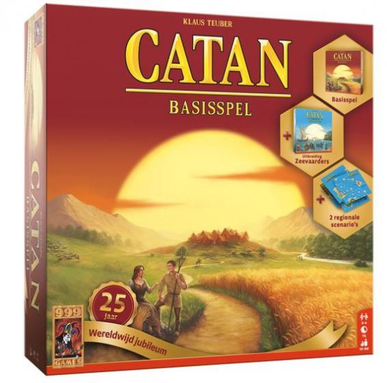 999 Games bordspel Catan: 25 jaar wereldwijd jubileum