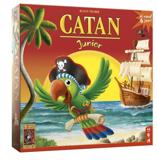 999 Games bordspel Catan junior