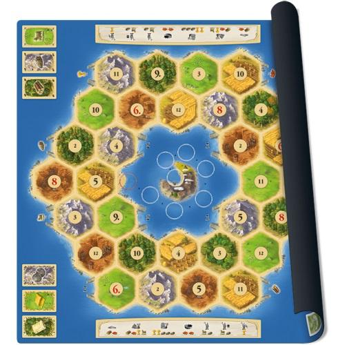 999 Games bordspel Catan Playmat Atoll